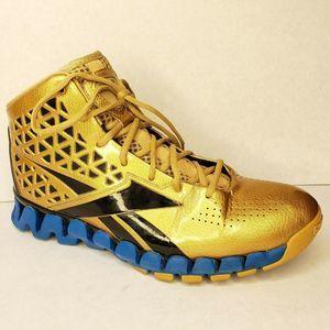 REEBOK Limited John Wall Zig Slash Gold Rush Shoes
